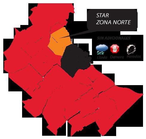 Star Division / Zona de Cobertura