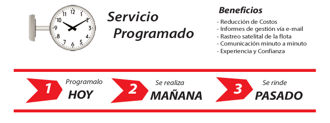Servicio Programado de Mensajería Urbana